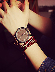 Unisex Large Dial Vintage Mens Watch Simple Womens Wrist Watch Students Watch Cool Watches Unique Watches Fashion Watch