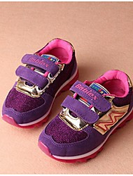 Girls' Shoes Casual Closed Toe Fashion Sneakers Black/Purple