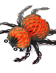 Halloween Paper Spider Ceiling Wall Hanging Decoration
