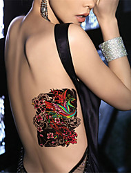 1Pcs Body Art Beauty Makeup Chinese Phoenix Waterproof Temporary Body Art Tattoo Sticker