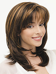 European and American Fashion Must-Have Girl Natural Curly Wig Quality
