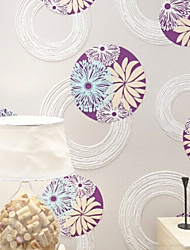 New Rainbow™ Contemporary Wallpaper Art Deco 3D Wallpaper Wall Covering Non-woven Fabric Wall Art