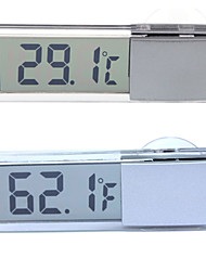 mini-portátil lcd exibição termômetro digital termômetro bitola métrica carro temperatura testador doméstico