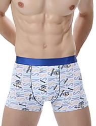 Men's Ice Silk Thin Low-waist Sexy Briefs Elasticity Boxers