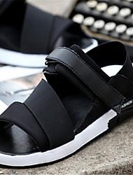 Zapatos de Hombre - Sandalias - Casual - Semicuero - Negro / Azul