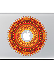 Circular Flower 18 Decorative Skin Sticker for MacBook Air/Pro/Pro with Retina Display