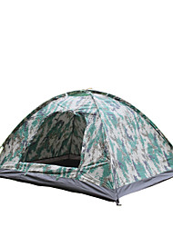 Double bump Digital Camouflage tent camping camping tent single 2 ultra light tent AT6510