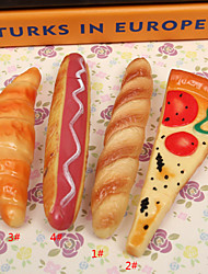 1pcs simulação de cachorro-quente pão crianças Aprender papelaria caneta esferográfica