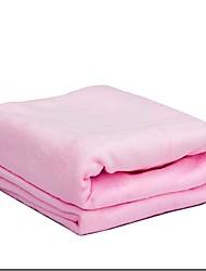 Serviette de bain Rose / Pourpre,Solide Haute qualité 100% Microfibre Serviette