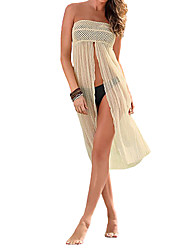 Women Cover Up Crochet Hollow out Meshy Beachwear Boho Bikini Dress Skirt Summer Beach