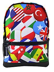 bandeira especial mochila impermeável moda poliéster mochila mochila para bbp127 meninas