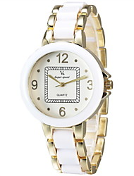 Lady Fashion Alloy Gold Fashion Watch