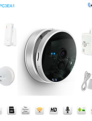 Snov 720P Wireless IR IP Camera Home & Business Cube IP Camera Alarm, Security IP Camera Alarm, Motion Detection, APP