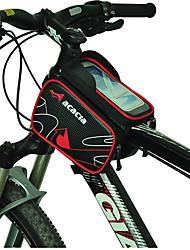 Handy-Tasche / Fahrradrahmentasche Radsport Für Andere ähnliche Größen Phones (Regendicht / Stoßfest / Multifunktions / Touchscreen , Rot