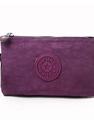 Women 's Nylon Cosmetic Bag - Multi-color