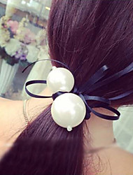 Women's Imitation Pearl/Rubber Headpiece - Casual/Outdoor Matching Twist Hair Tie 1 Piece