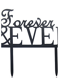 The Forever Love Cake Topper