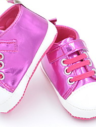 Baby Shoes Casual Canvas Fashion Sneakers Pink/Fuchsia/Silver