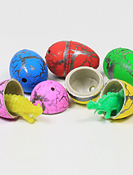 60pcs Colorful Hatching Growing Dinosaur Dino Eggs Add Water Magic Cute Children Toys
