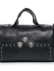 Handcee® Best Seller Woman Bag Real Leather Hippie Style Skull Women Shoulder Bag