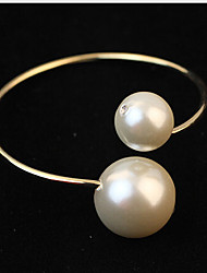 May Polly Simple and elegant all-match size Pearl Bracelet openings