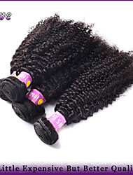 "4Pcs/Lot 10""-28"" Malaysian Virgin Hair Extensions Natural Black Kinky Curly 100% Human Hair Bundles Queen Hair Products"