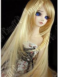 """Tita 1/3 8-9 """"dal msd pullip bjd sd luts souper dollfie poupée longue perruque blonde"""
