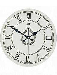 Orologio da parete - DI Alluminio/Legno - Retrò - Tonda/Novità