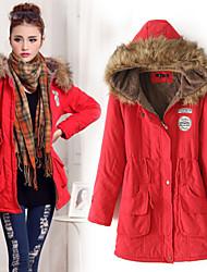 Domonie Women's Coats & Jackets ,  Casual/Cute Long Sleeve