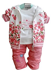 Girl's Cotton Blend Clothing Set Spring/Fall Long Sleeve