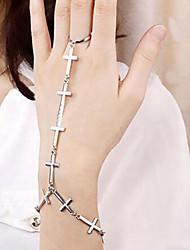 New Arrival Fashional Exaggerated Cross Ring
