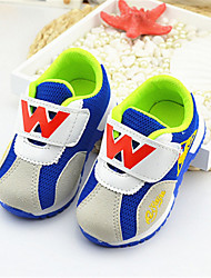 Baby Shoes - Casual - Sneakers alla moda - Tulle - Blu / Rosso