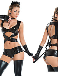 Costumes - Uniformes - Féminin - Halloween/Carnaval - Top/Shorts/Coiffure/Boucle