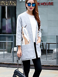 Women's   New The Horse Tweed Jacket Windbreaker Autumn And Winter <BR>Coat
