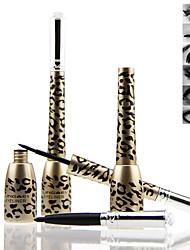 léopard maquillage professionnel eyeliner liquide crayon + eyeliner noir imperméable à l'eau