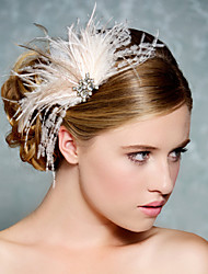 Hand Made Wedding Feather Hair Clip Fascinator Headpieces Fascinators 046