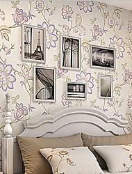 novo arco-íris ™ retro wallpaper art deco parede virada cobrindo arte não-tecidos da parede da tela