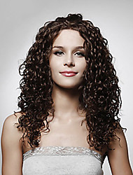 Capless Long Top Grade Quality Synthetic Curly Hair Wig Multiple  Available