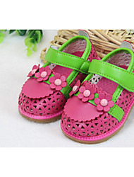 Baby Shoes Wedding/Outdoor/Dress/Casual Leather Sandals Pink