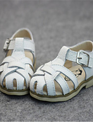 Baby Shoes Casual Leather Sandals Pink/White