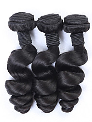 "3pcs / lot 8 ""-34"" vague lâche extension de cheveux de cheveux brésiliens vierges brazillian vague lâche cheveux humains"