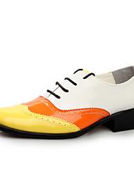 Oxfords ( Cuero , Negro/Múltiples colores/Rojo Zapatos de hombre