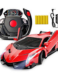 Love Kiss Lamborghini Gravity Induction Wheel Remote Control Car Model Open Brift ToyBoy Racing