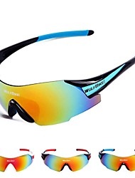 WOLFBIKE Sports Prevent Scratched Glasses Bike Cycling Ski Motorcycle Bicycle Goggles Polarized Anti-Wind
