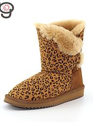 MG Warm Twinface Sheepskin 2015 New Arrive Women's Winter Boots Autumn Shoes Flat Heel Boots Snow Boots