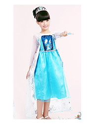 Kid's Dress , Cotton Casual/Cute/Party Sallay