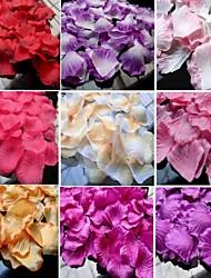 40 color Available Rose Petals Table Decoration - (100 Petals Per Pack)