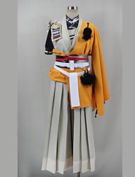 Cosplay Costumes - Outros - Outros - Capa de Kimono/Top/Calças/Luva/Cinto