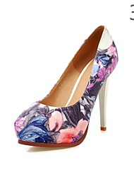 Women's Shoes Stiletto Heel Heels/Platform Pumps/Heels Wedding/Party & Evening/Dress Black/Red/White/Multi-color