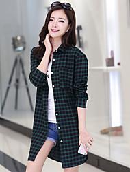 Women's Shirt , Cotton Long Sleeve